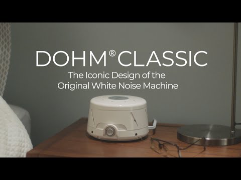 Dohm® Classic Natural Sound Machine, White