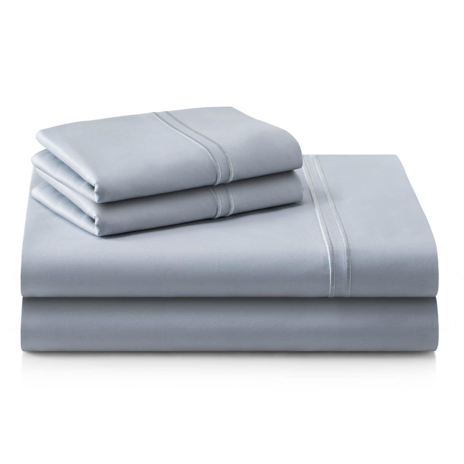 Supima Cotton Sheets Cal King Smoke - Yogasleep by Malouf