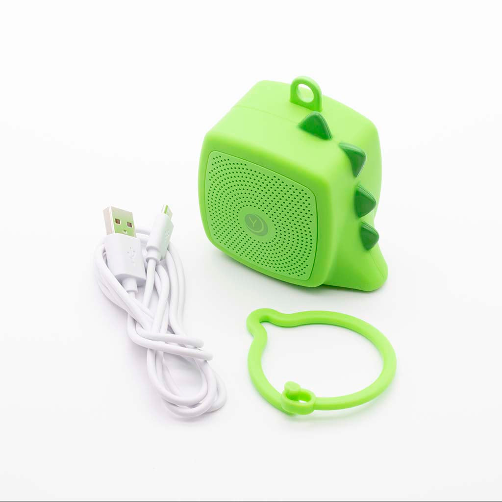 Green Dinosaur pocket-sized baby sound soother from Yogasleep