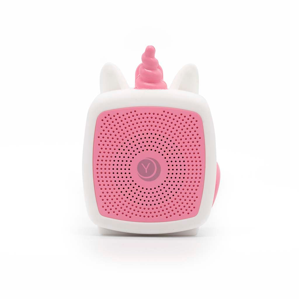 Unicorn pocket-sized baby sound soother from Yogasleep