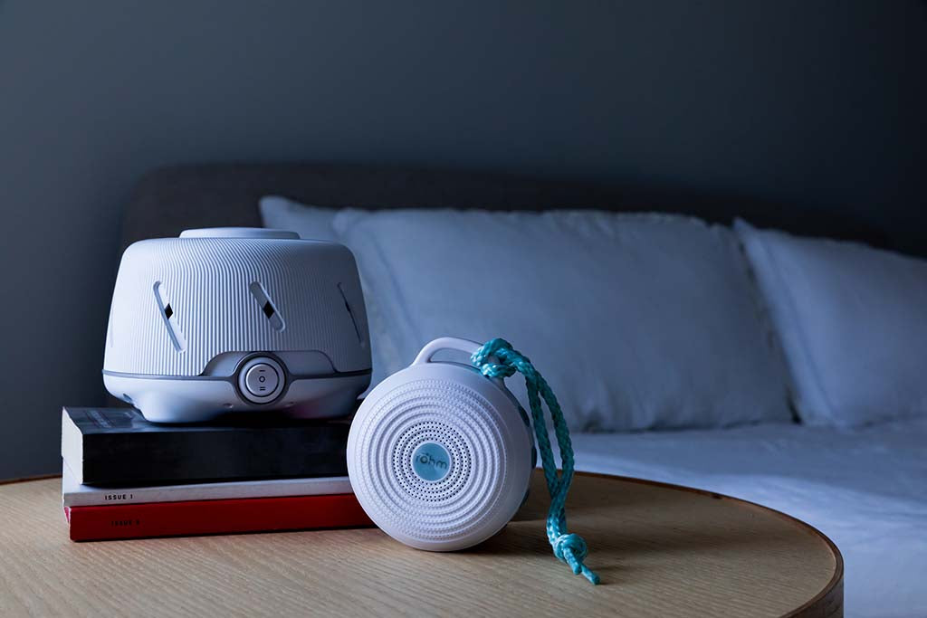 Dohm White/Gray with Rohm | Yogasleep