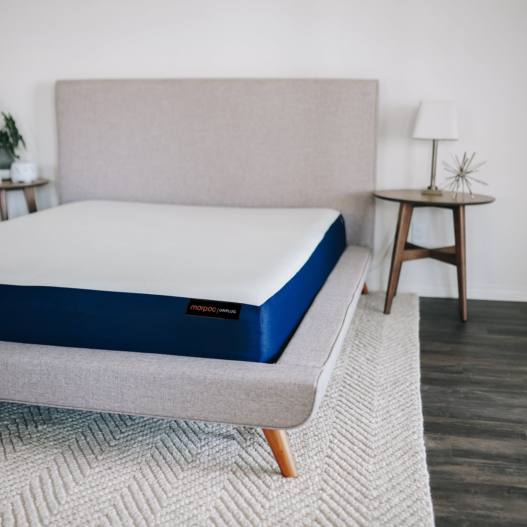 "Unplug 10"" Memory Foam Mattress 