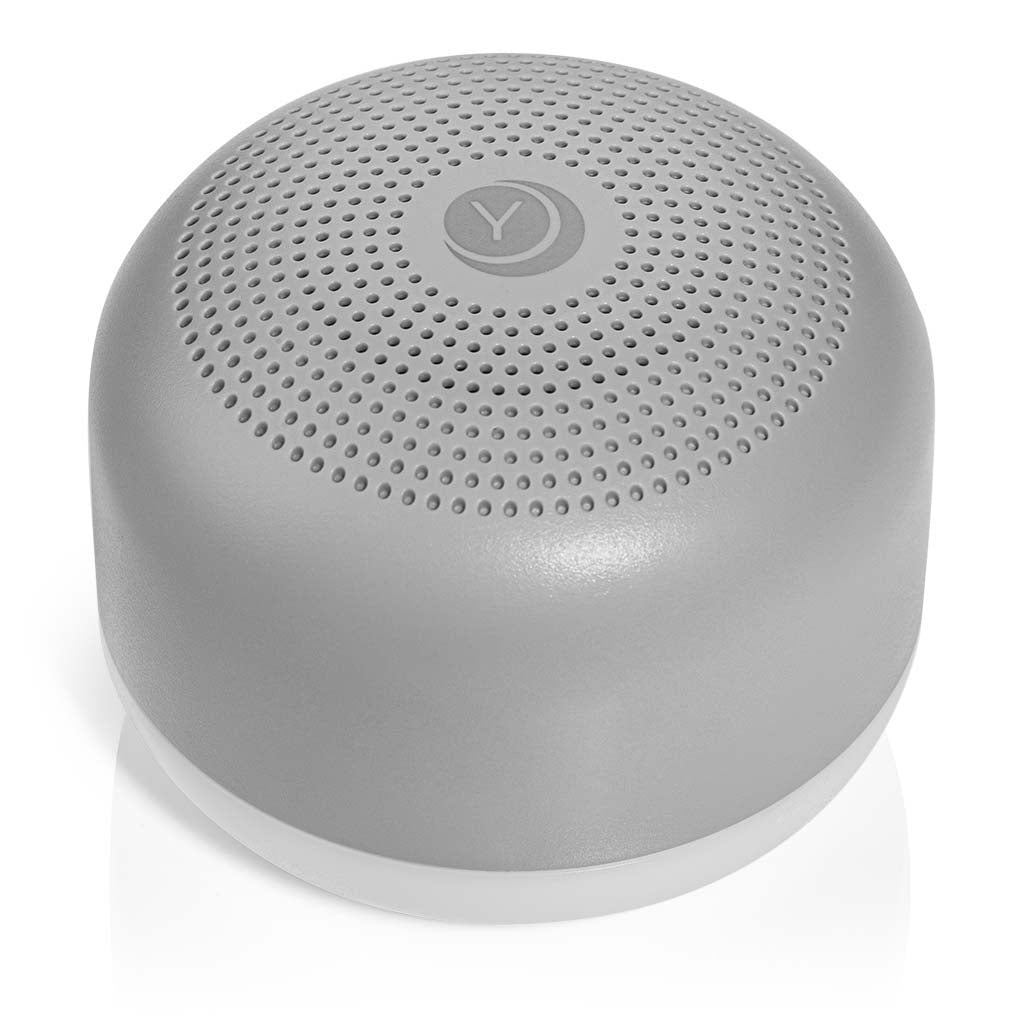 Travel Mini Sound Machine in Black with Nighlight | Yogasleep
