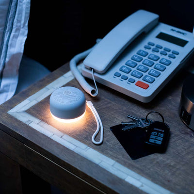 Travel Mini Multi Sound Machine with dimmable Night Light | Yogasleep