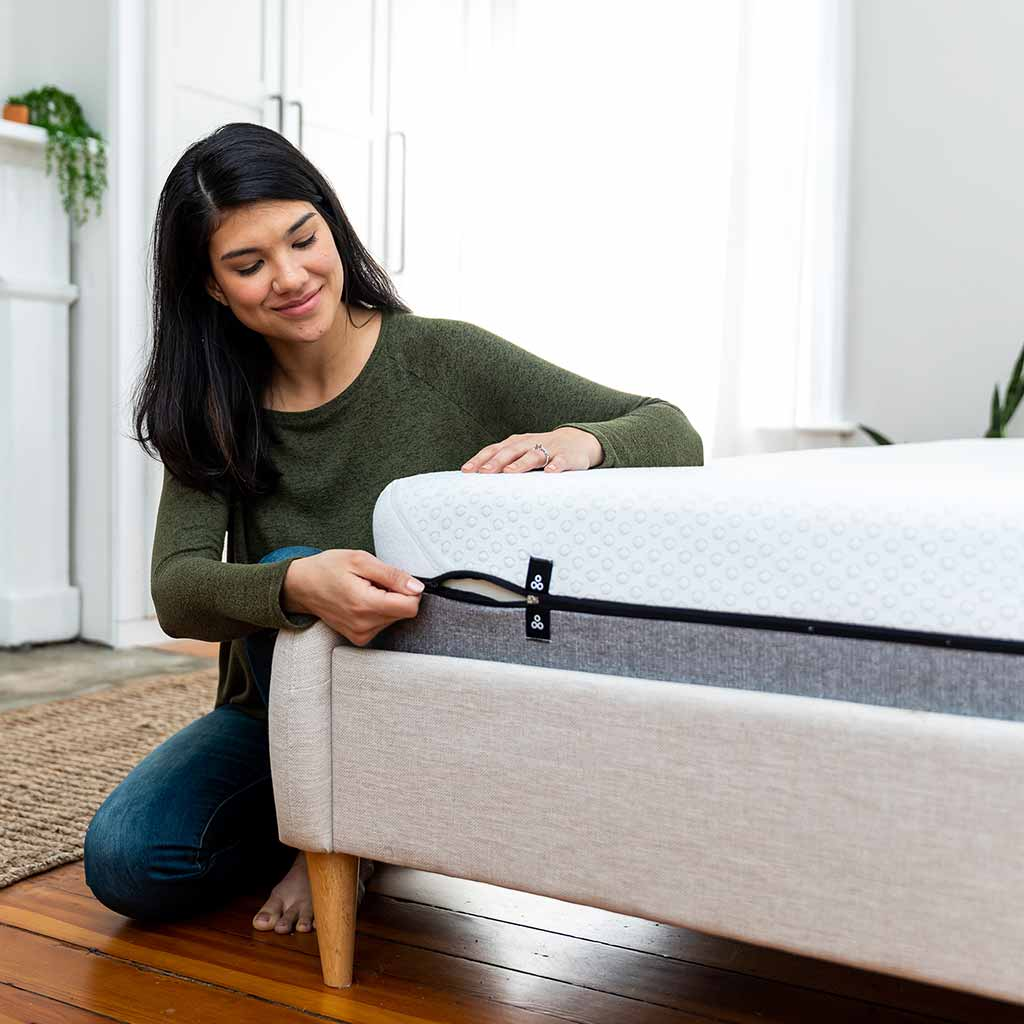 Removable Machine Washable Mattress Cover | Yogasleep