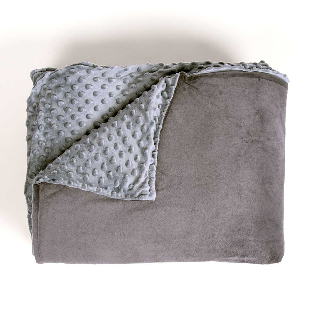 Linenspa/5 Pound/Weighted Blanket/ Filled with Premium Glass Beads /All Natural/Relief and Sleep Aid/ Calming and Soothing Hug
