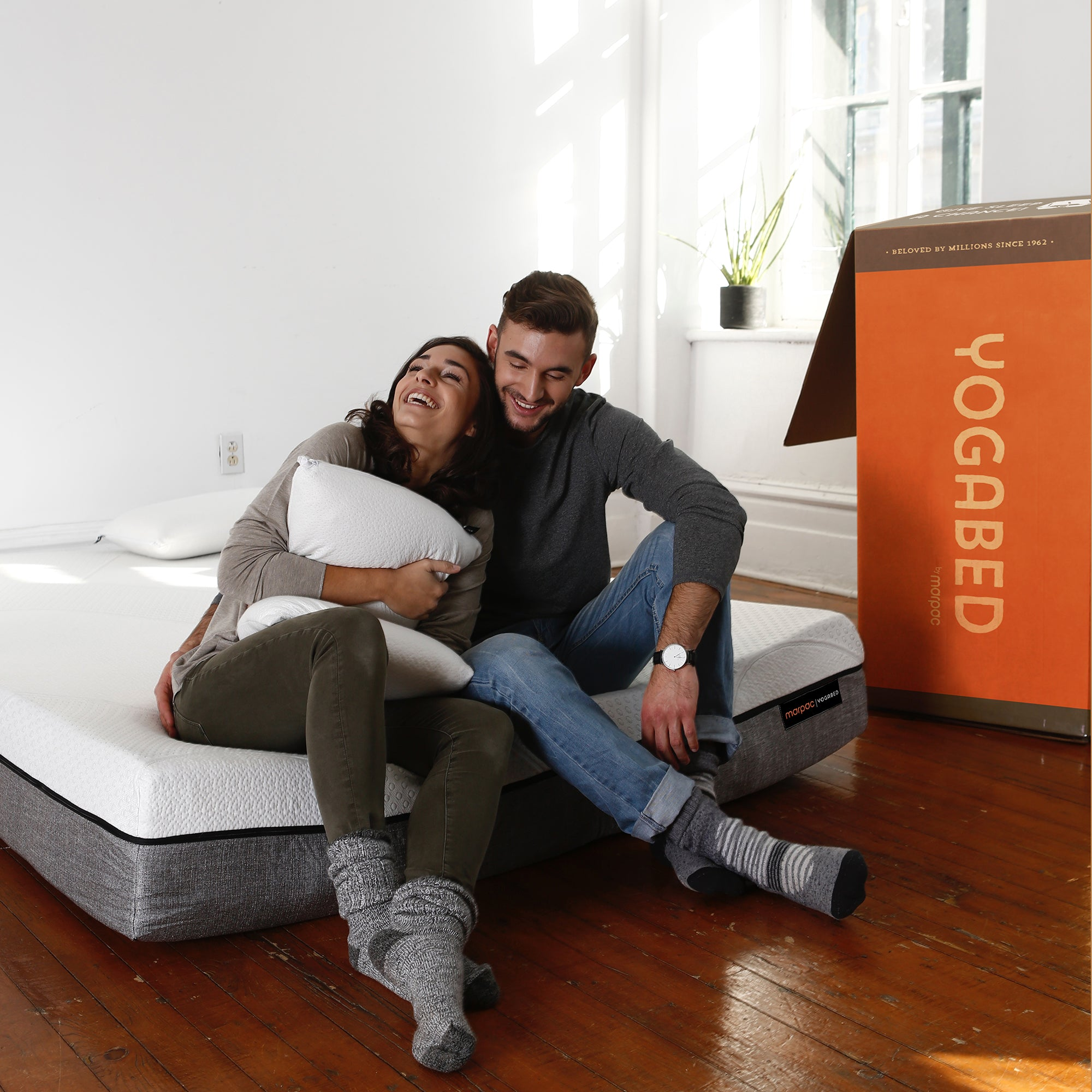Yogabed Premium Memory Foam Mattress, King - Yogasleep