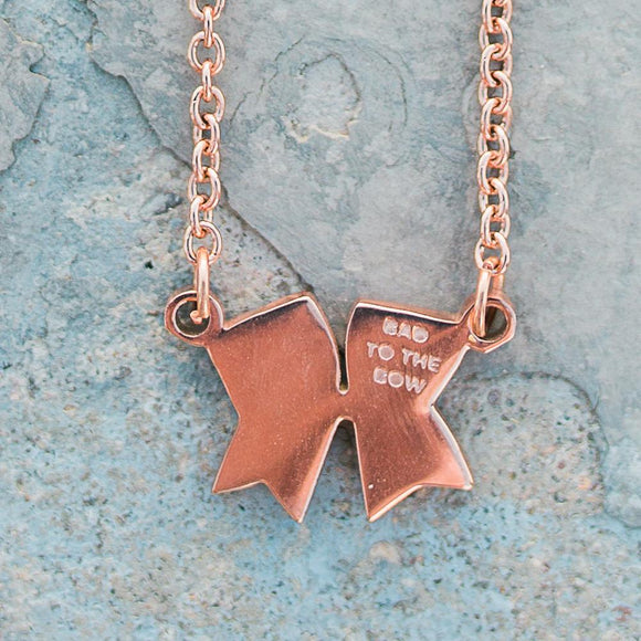 Bad To The Bow Choker Necklace