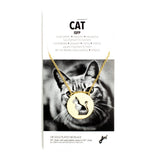 Cat Spirit Animal Necklace ISFP