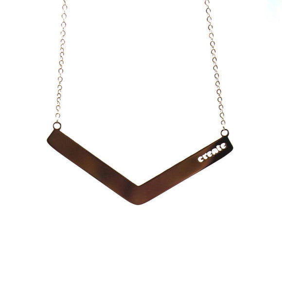 Create Angle Bar Necklace