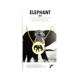 Elephant Spirit Animal Necklace ESFJ
