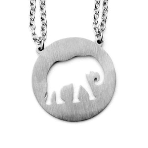 Elephant Spirit Animal Necklace ESFJ  - Jaeci Jewlery