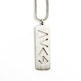 GOD IS GREATER THAN THE HIGHS & LOWS NECKLACE  - Jaeci Jewlery
