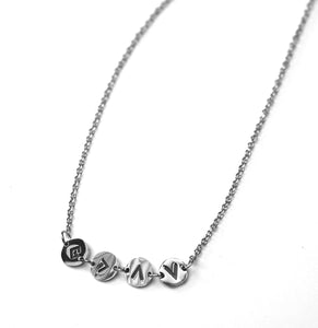 God is Greater Than The Highs & Lows Dainty Acronym Necklace