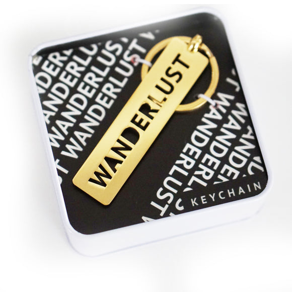 Wanderlust Key Chain