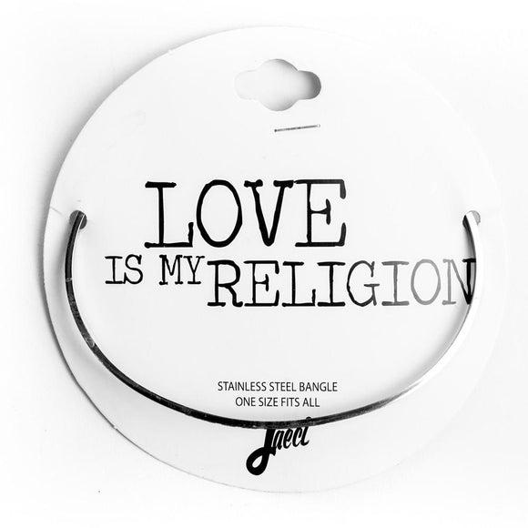 Love is My Religion Delicate Bangle