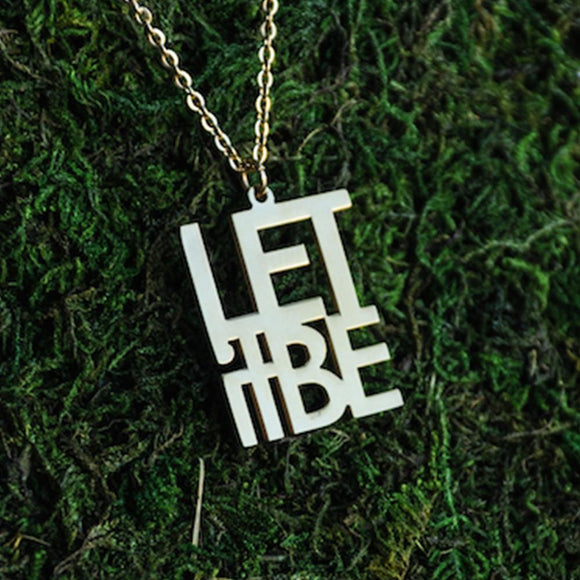Let it Be Necklace  - Jaeci Jewlery