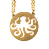 Octopus Spirit Animal Necklace INTJ  - Jaeci Jewlery