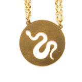 Snake Spirit Animal Necklace ISTP  - Jaeci Jewlery