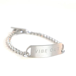 VIBE OUT MENS CHAIN BRACELET
