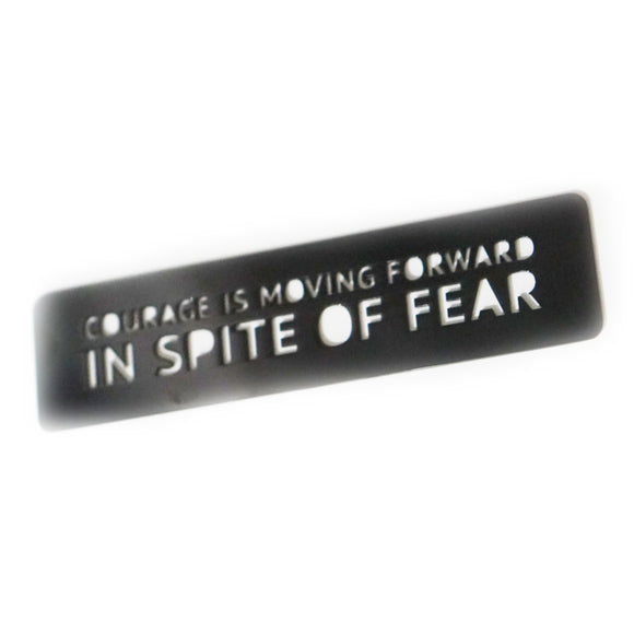 Courage Is Moving Forward In Spite Of Fear Bookmark
