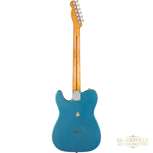 Fender Vintera Road Worn® '50s Telecaster®, Maple Fingerboard, Lake Placid Blue