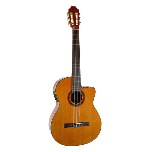 Katoh MCG 40CEQ Solid Cedar Top Classic with Pickup