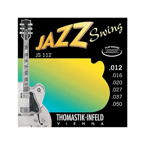 Thomastik JS112 Jazz- Swing Flatwound 12-50
