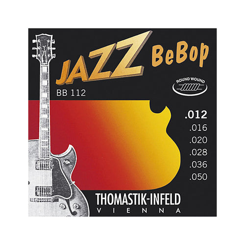 Thomastik BB112 Jazz- BeBop 12-50 Roundwound