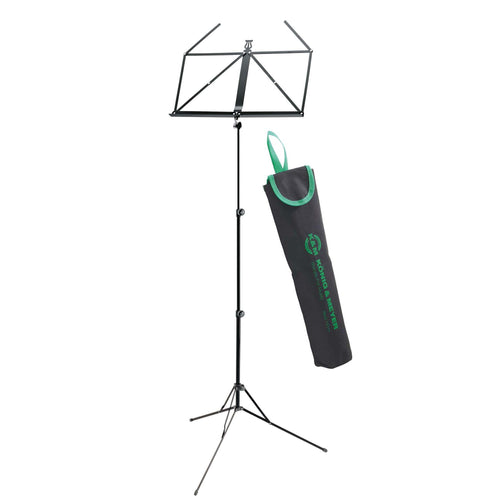 K&M 10199 black Music stand in bag