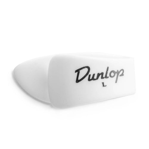 Dunlop 91TWLL Large Thumbpick White Left Hand