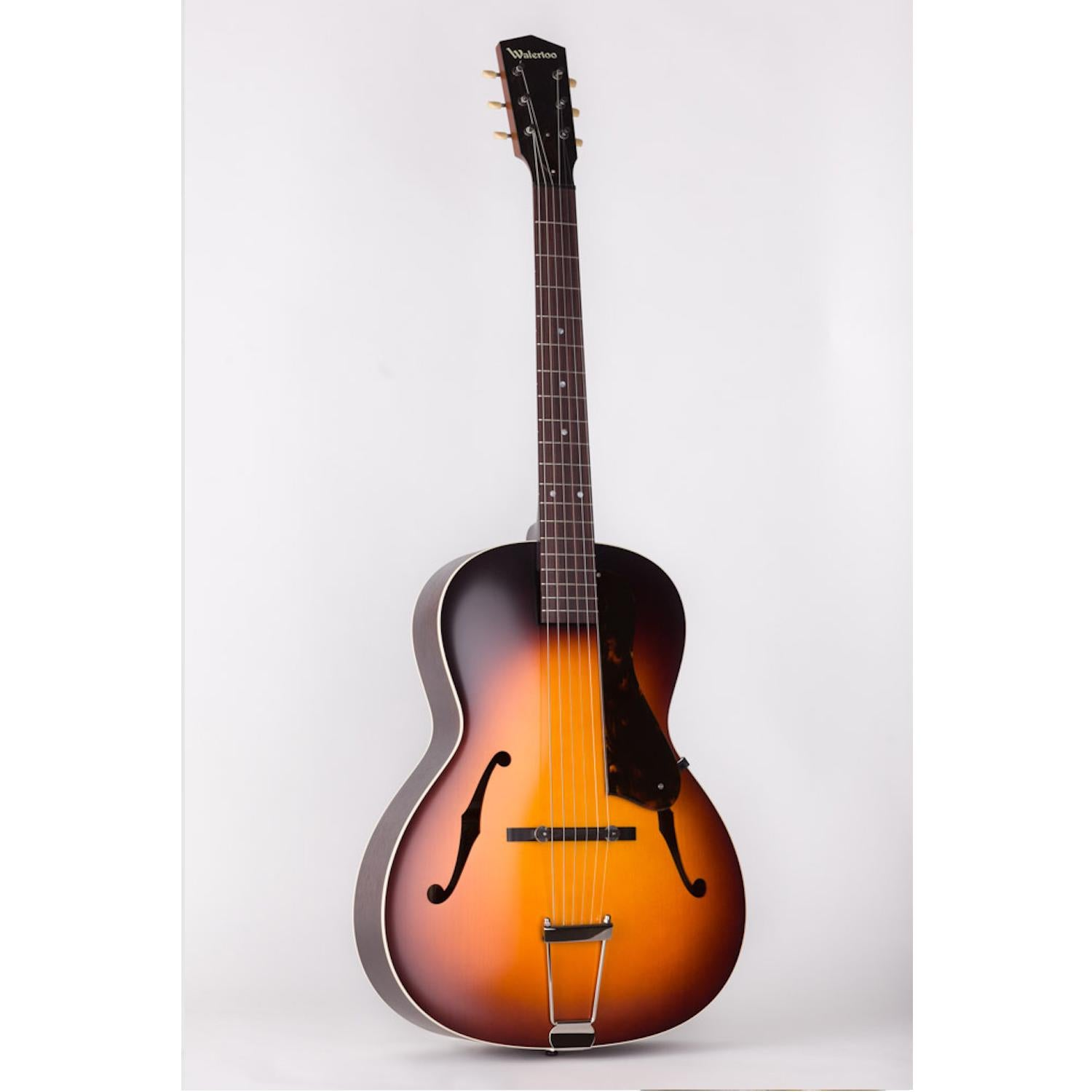 Waterloo WL-AT Archtop Acoustic Tobacco Sunburst