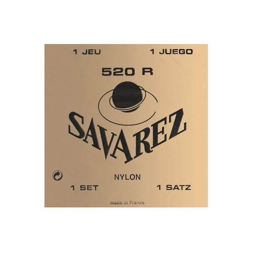 Savarez 520R Red High Tension Classical Guitar Strings