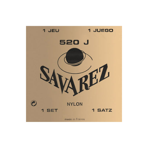 Savarez 520J Yellow Super High Tension Classical Guitar Strings