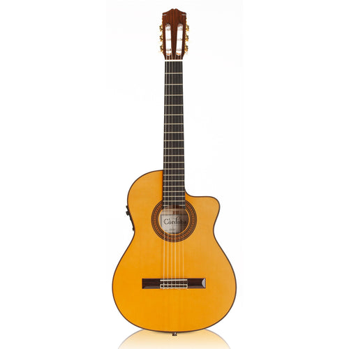 Cordoba 55FCE Spruce/Flame Thinbody Acoustic/Electric  Flamenco Guitar