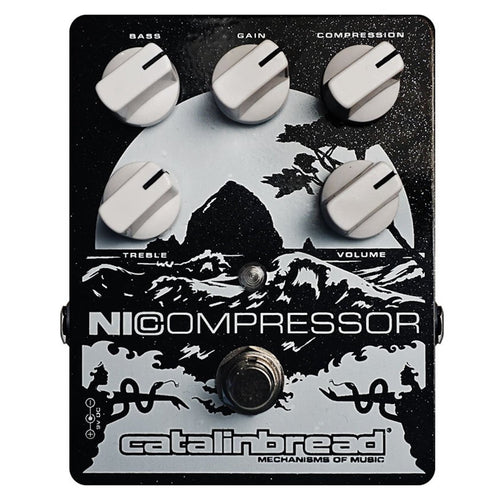 Catalinbread NI Compressor - Black & Silver