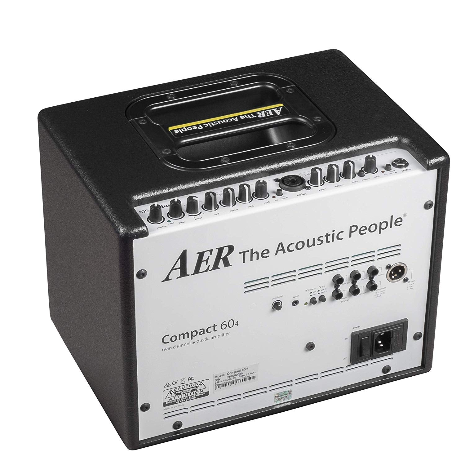 AER Compact 60/4 Acoustic Guitar Amplifier