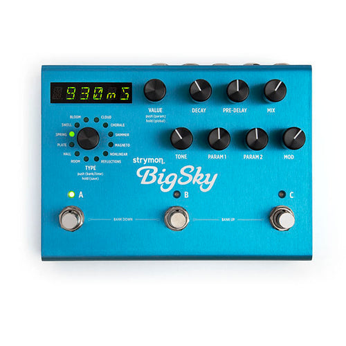 Strymon Big Sky Multidimensional Reverberator