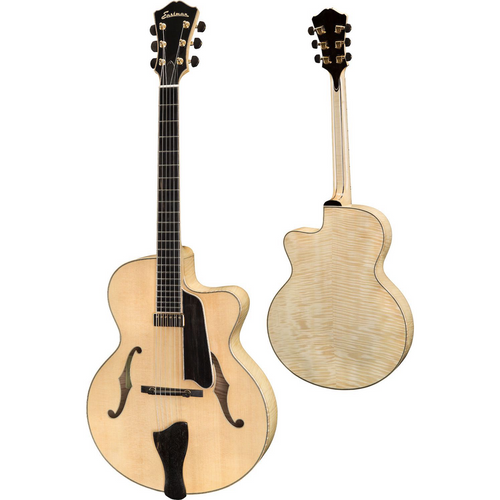 Eastman AR805CE-BD Electric Hollowbody Archtop-Blonde