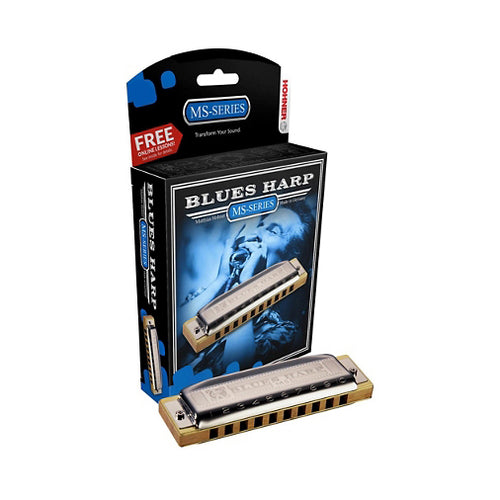 Hohner Blues Harp Harmonica Pack - Key of Ab