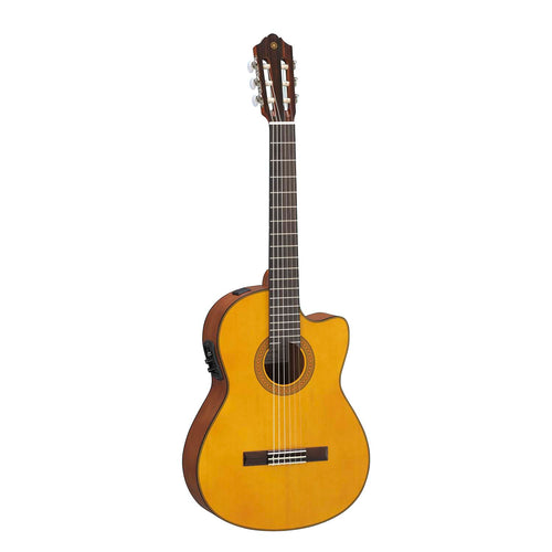 Yamaha CGX122MSC Solid Cedar Top Acoustic/Electric Classical