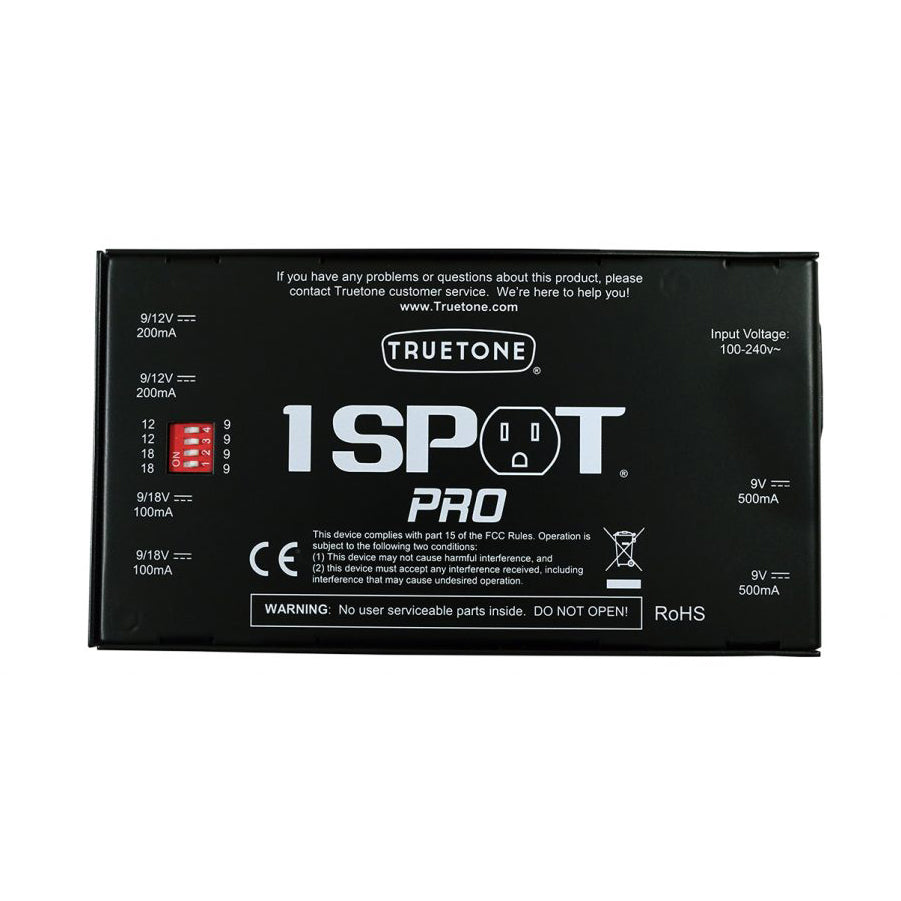 Truetone 1-Spot Pro CS6 Power Supply