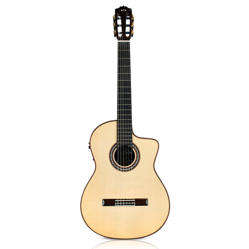 Cordoba GK Pro Negra All Solid Flamenco Guitar with Pickup w/Bag