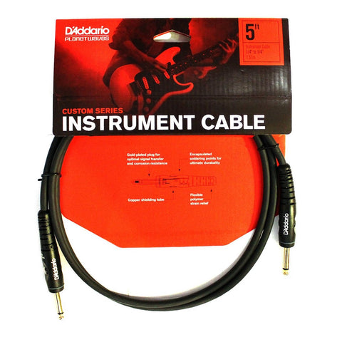 Planet Waves Custom Series Instrument Cable 15'