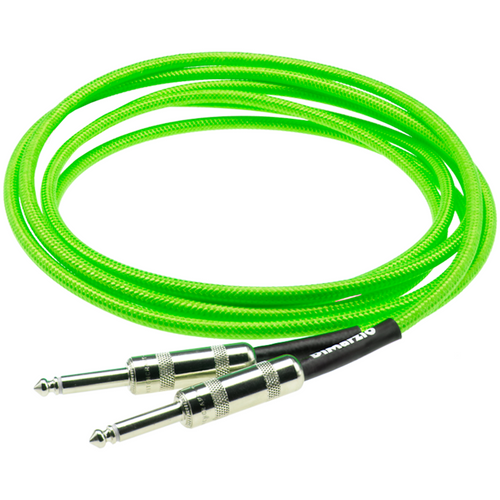 DiMarzio EP1718NG 18ft American Cable Overbraid Neon Green