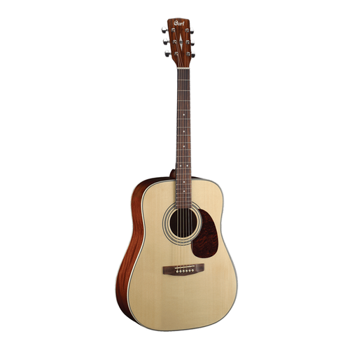 Cort Earth 70 Solid Top Acoustic Guitar Pack