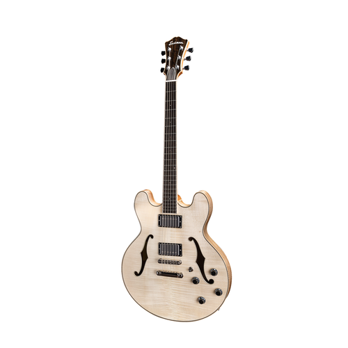 Eastman T186MX-BD Thinline Semi-Hollow Electric-BLonde