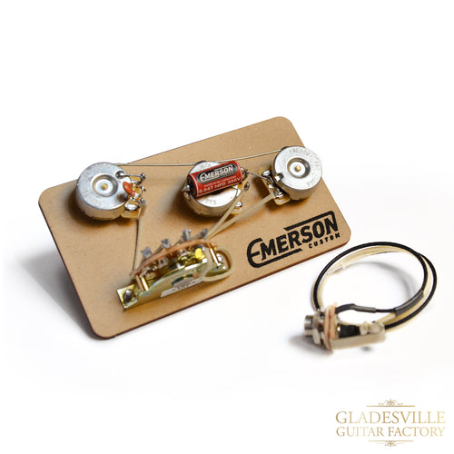 Emerson S5 Stratocaster 250k 5-Way Prewired Kit