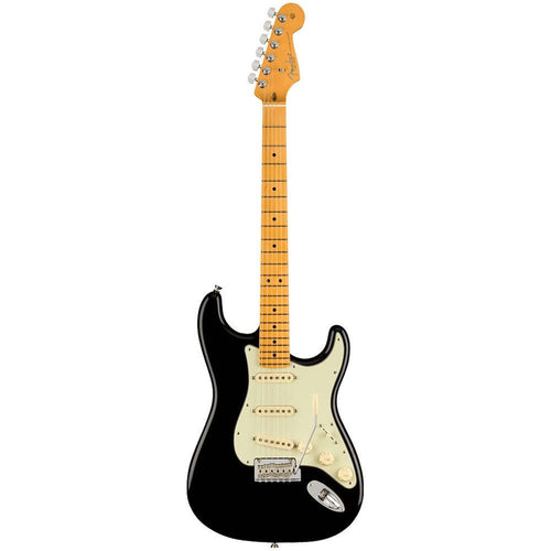 Fender American Professional II Stratocaster®, Maple Fingerboard, Black