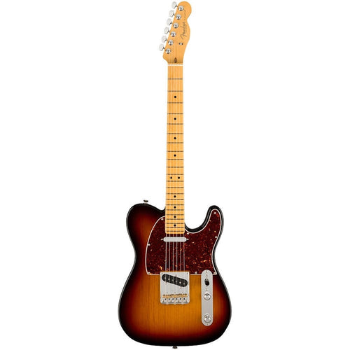 Fender American Professional II Telecaster®, Maple Fingerboard, 3-Color Sunburst